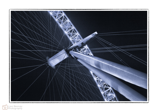 London Eye at Night - Societies Convention 2013