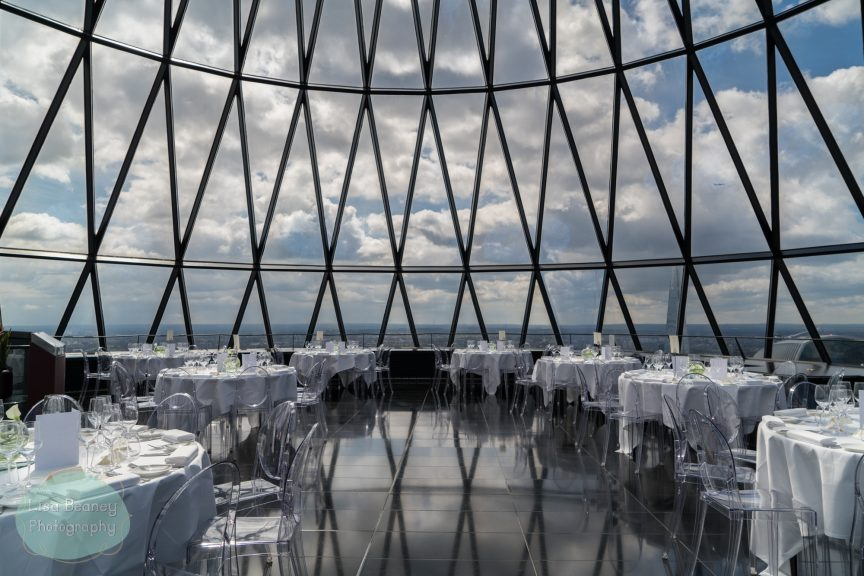 Gherkin top floor