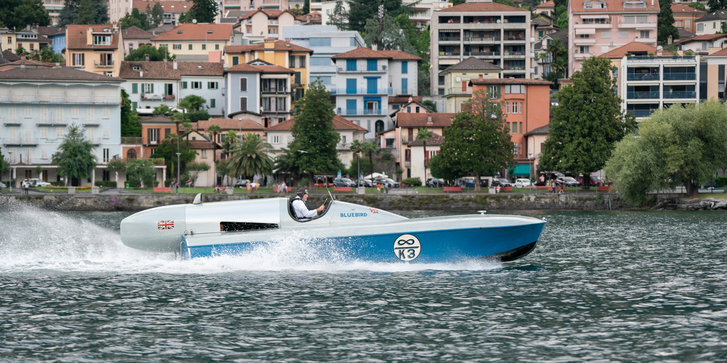 Bluebird K3 on Lake Maggiore
